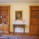 Duo bibliothèques en bois sur mesure