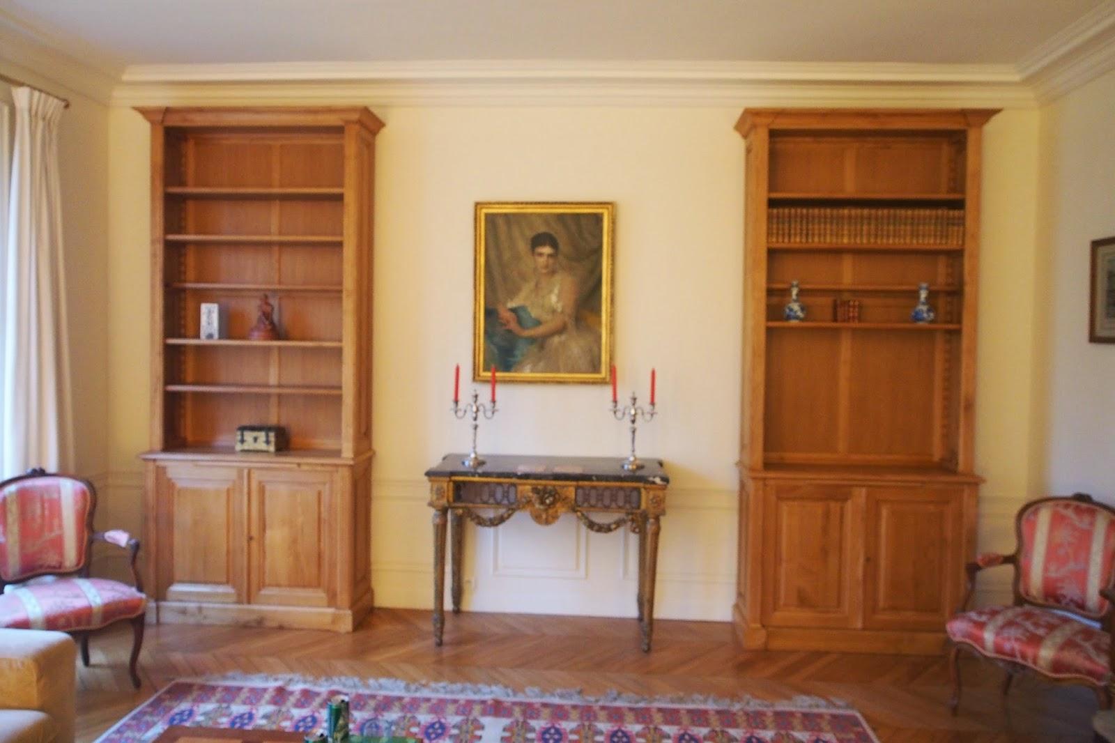 Biblioth que et meubles sur mesure versailles r gion for Conception meubles