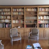 Grande bibliothèque néo-classique