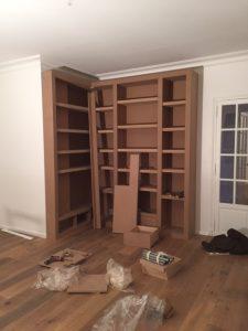 montage bibliothèque étape 5