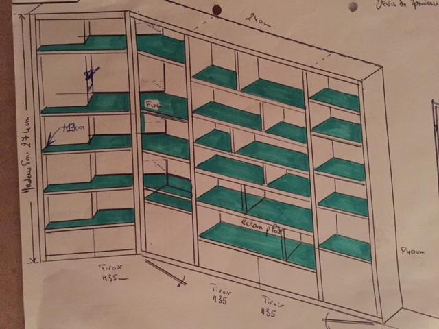 Plan bibliothèque