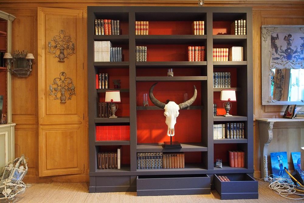 Très Bibliothèque et meubles sur mesure à Versailles (Région parisienne) SA09