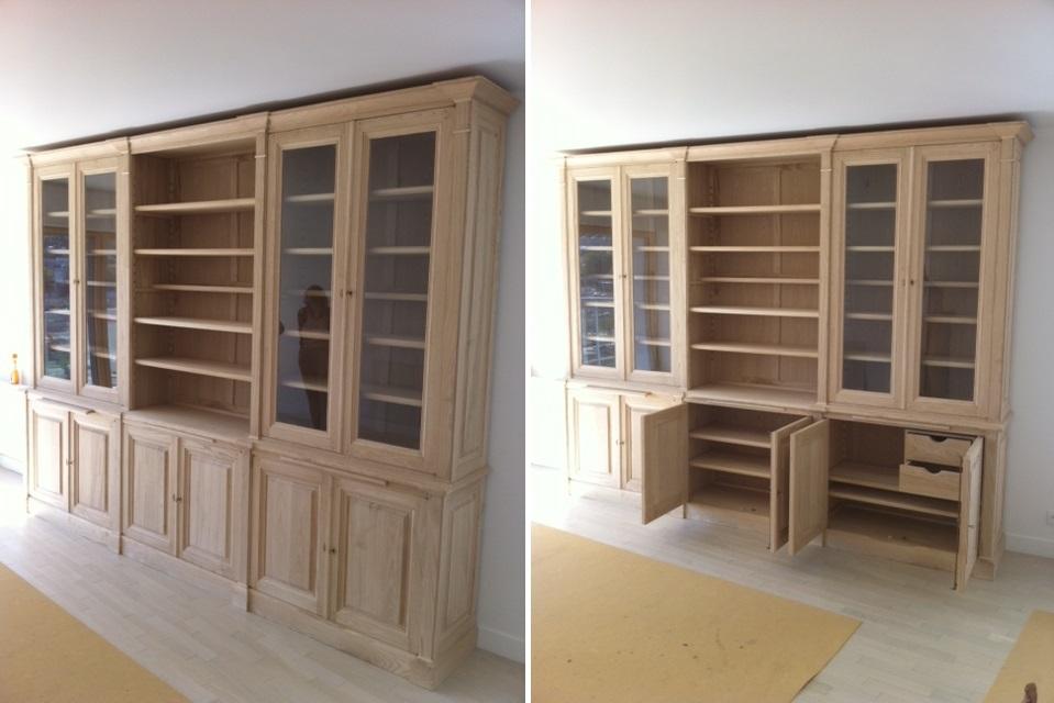 biblioth que de style directoire. Black Bedroom Furniture Sets. Home Design Ideas