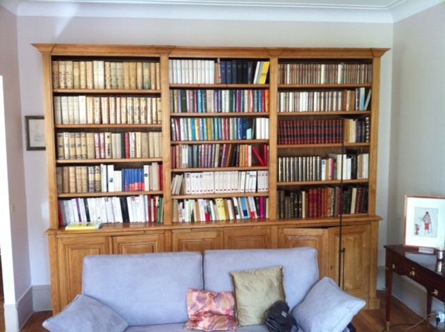 bibliotheque-bois-cire