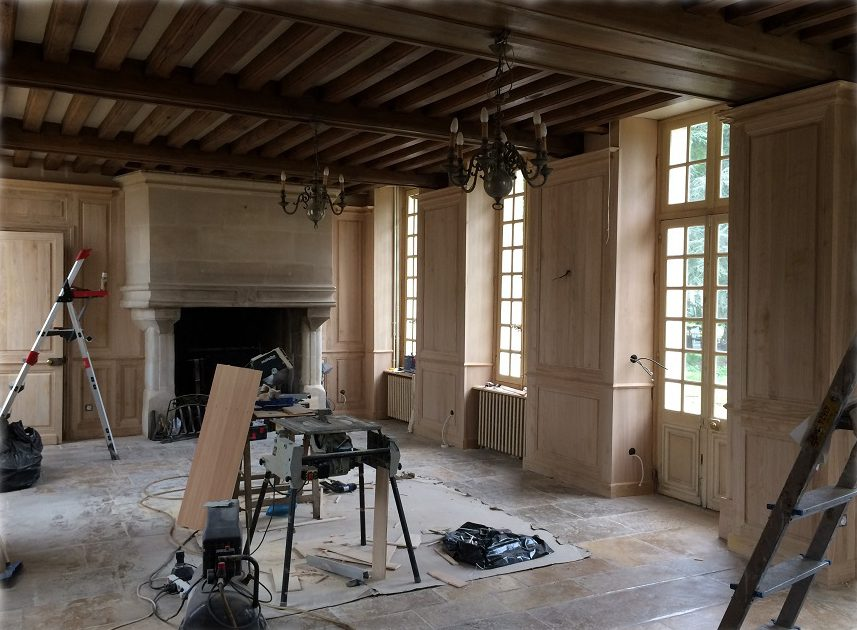 chantier-chateau-paris-boiserie