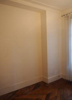 Mur avant meuble