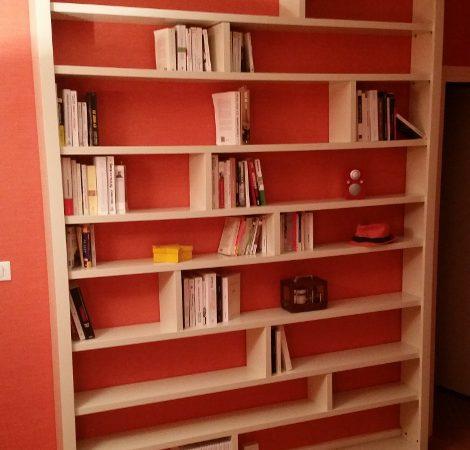 Bibliothèque ZEN  pour une décoration d'intérieur contemporaine
