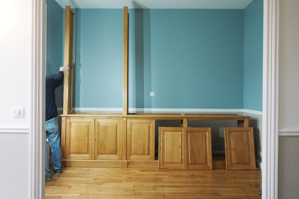 r alisation pour une biblioth que dans une belle demeure. Black Bedroom Furniture Sets. Home Design Ideas