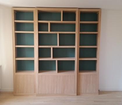 BIBLIOTHÈQUES CONTEMPORAINES Magasin de meubles sur-mesure à ...